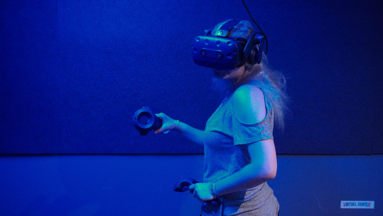 joueur réalité virtuelle
